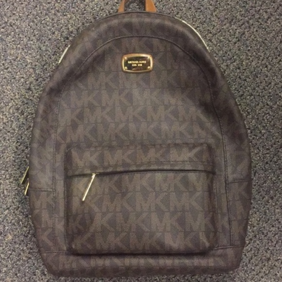 9480c5b4b0e18f Michael Kors Bags | Large Jet Set Backpack Brown | Poshmark